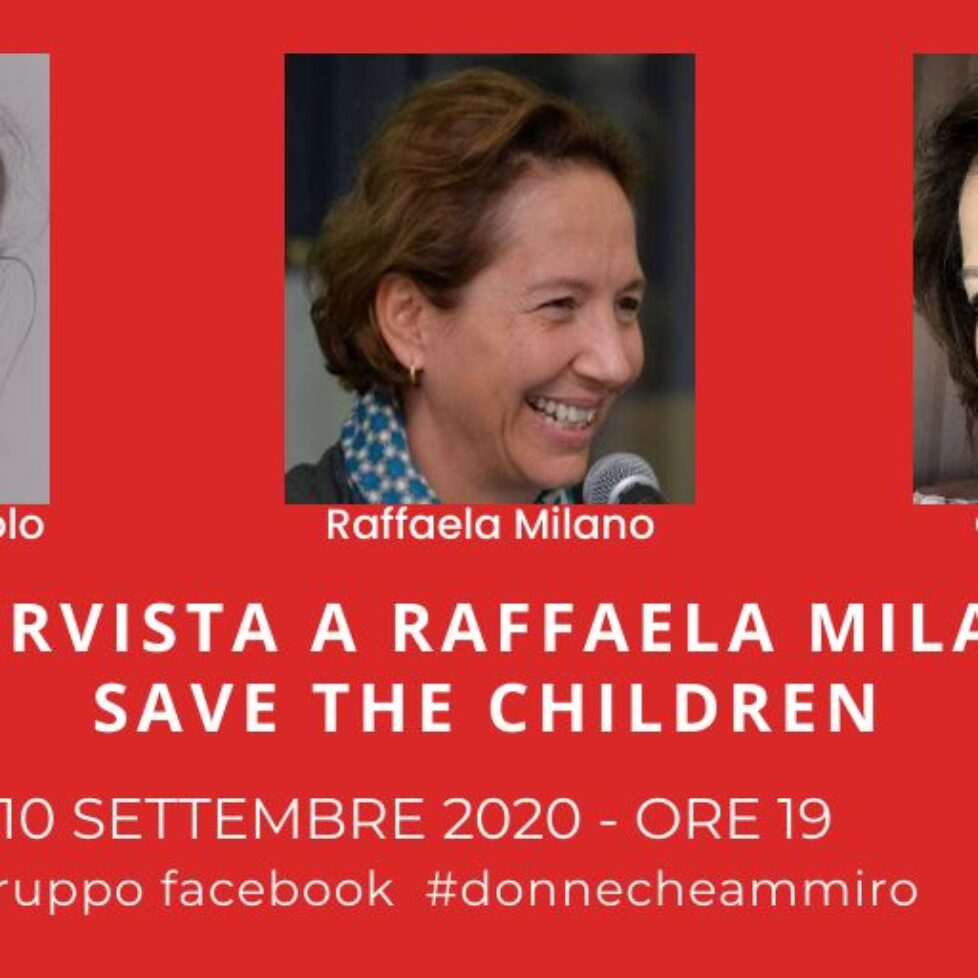 Intervista a Raffaela Milano