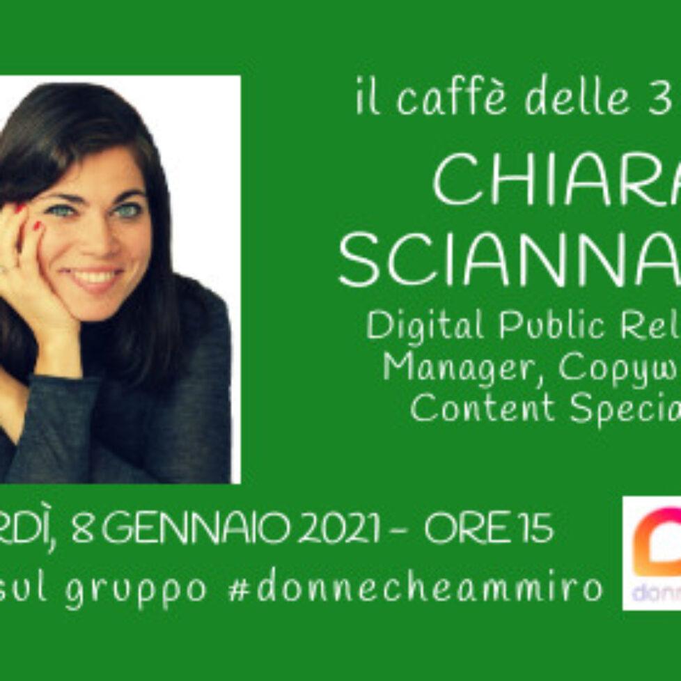Caffè Chiara sciannam 8 gennaio 2021VERDE
